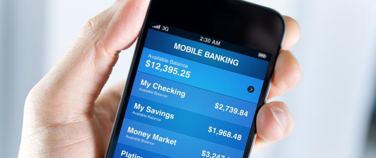mobile banking app ranking